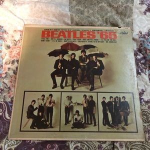 The Beetles 1965 full size record